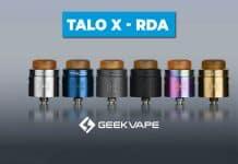 Talo X: el regreso de GeekVape a los RDA