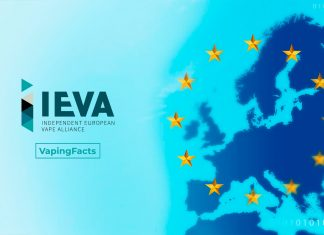 IEVA lanza plataforma para informar a Europa sobre el vapeo